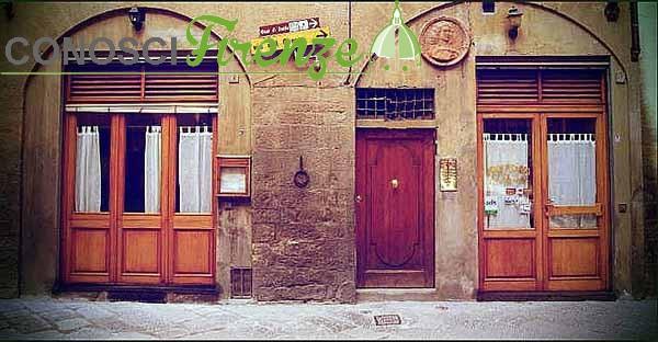 Trattoria dove era la casa di Dante