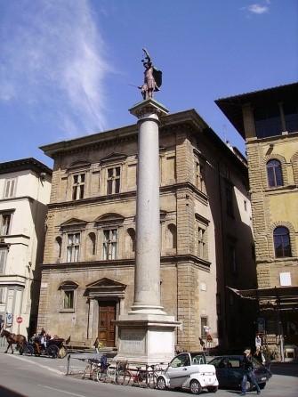 Visita Guidata: le statue e le colonne a Firenze