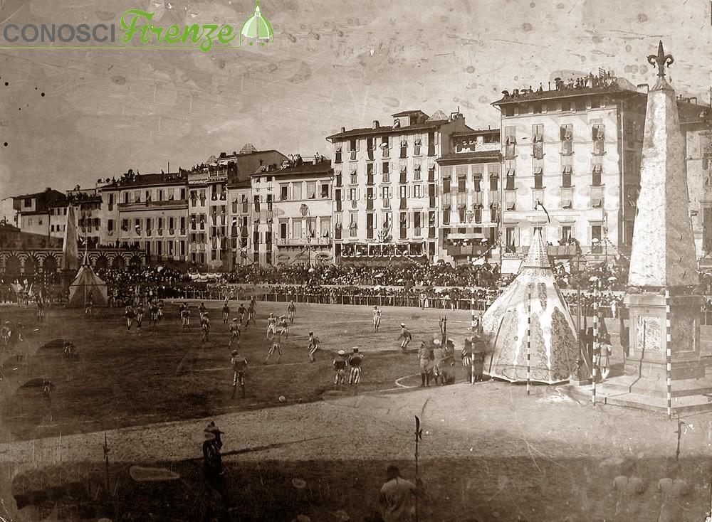 Calcio in Costume in Santa Maria Novella nel 1902