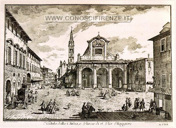 Giuseppe_Zocchi,_Piazza_san_Pier_Maggiore_(1744)