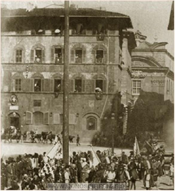 Palazzo della Mercanzia 1887