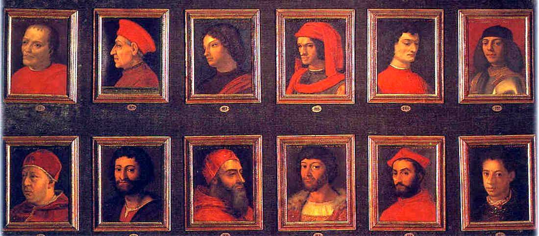 The Medici family, a dynasty at the power