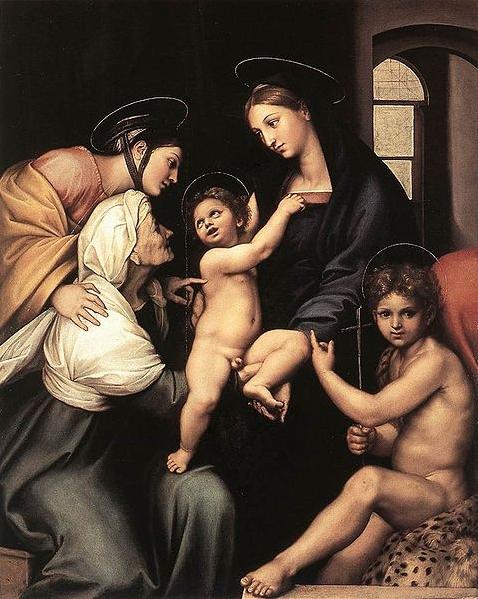 La Madonna dell'Impannata di Raffaello