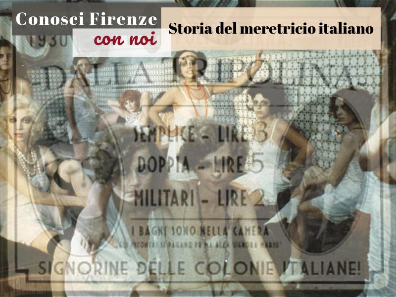 Visita guidata in presenza alla storia del meretricio italiano