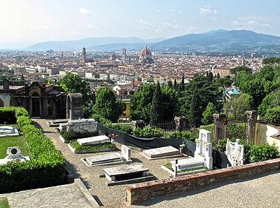 Il cimitero di San Miniato