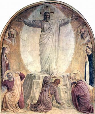 Beato Angelico: Trasfigurazione, San Marco
