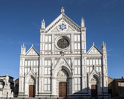 Chiesa di Santa Croce, Tempio Itale Glorie